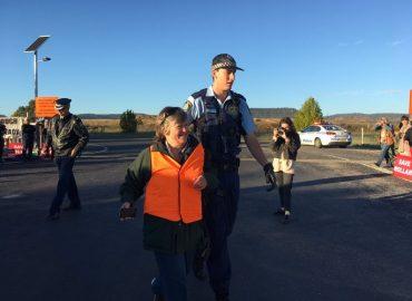 The arrest of Bev Smiles